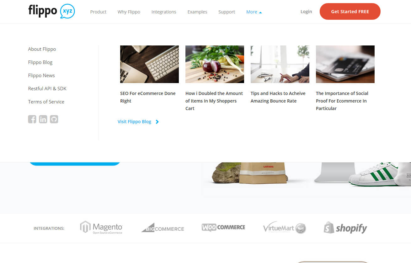 content items module